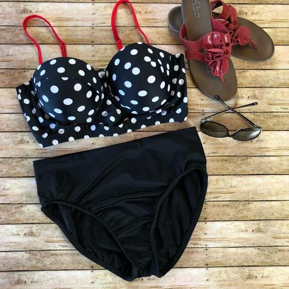 Retro polka dot bikini opinion